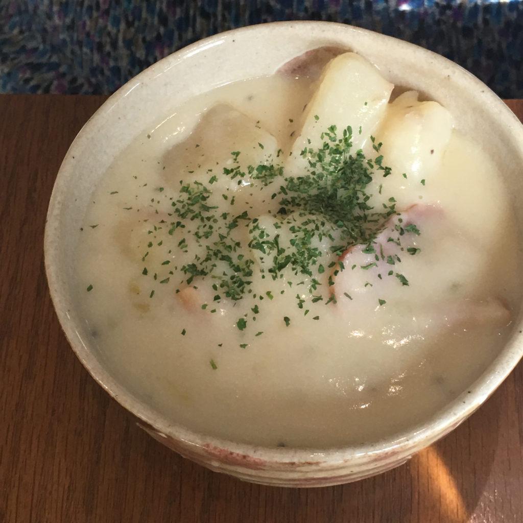 ベーコンポテトクリームスープ